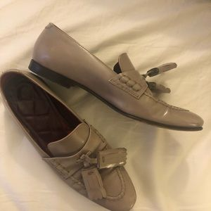 Burberry tassel loafers 38